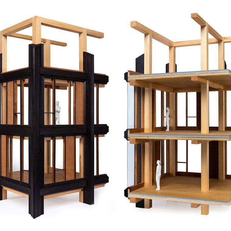 Model detail, 475 West 18th, New York, NY, 2015. Courtesy SHoP Architects PC.