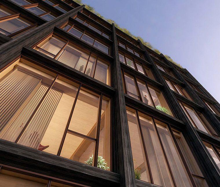 Façade detail, 475 West 18th, New York, NY, 2015. Courtesy SHoP Architects PC.