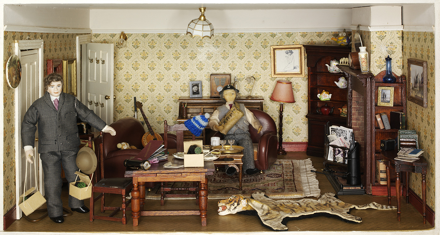 Small Stories At Home In A Dollhouse At The National