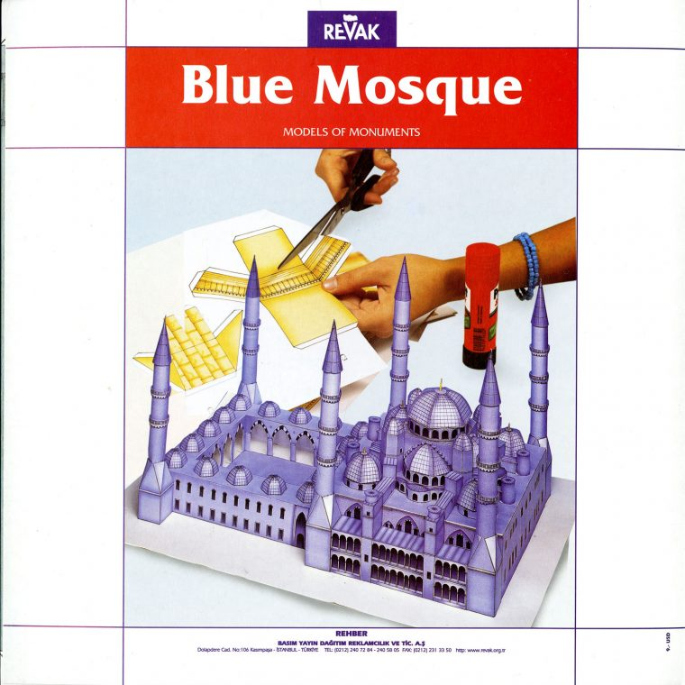 Blue Mosque. National Building Museum collection.