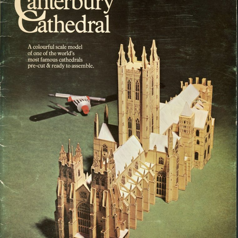Centerbury Cathedral. National Building Museum collection.