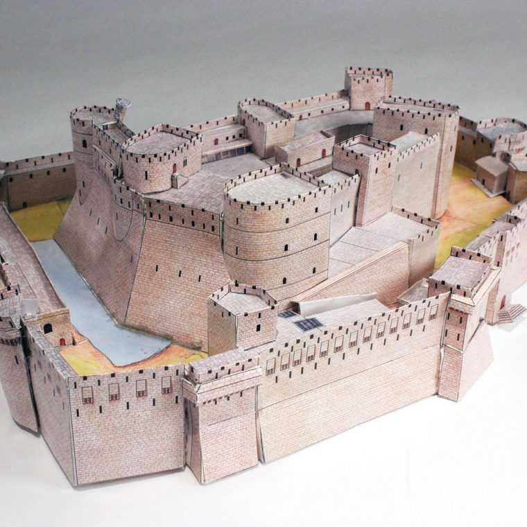 Chevaliers Castle. Photo by Museum Staff.