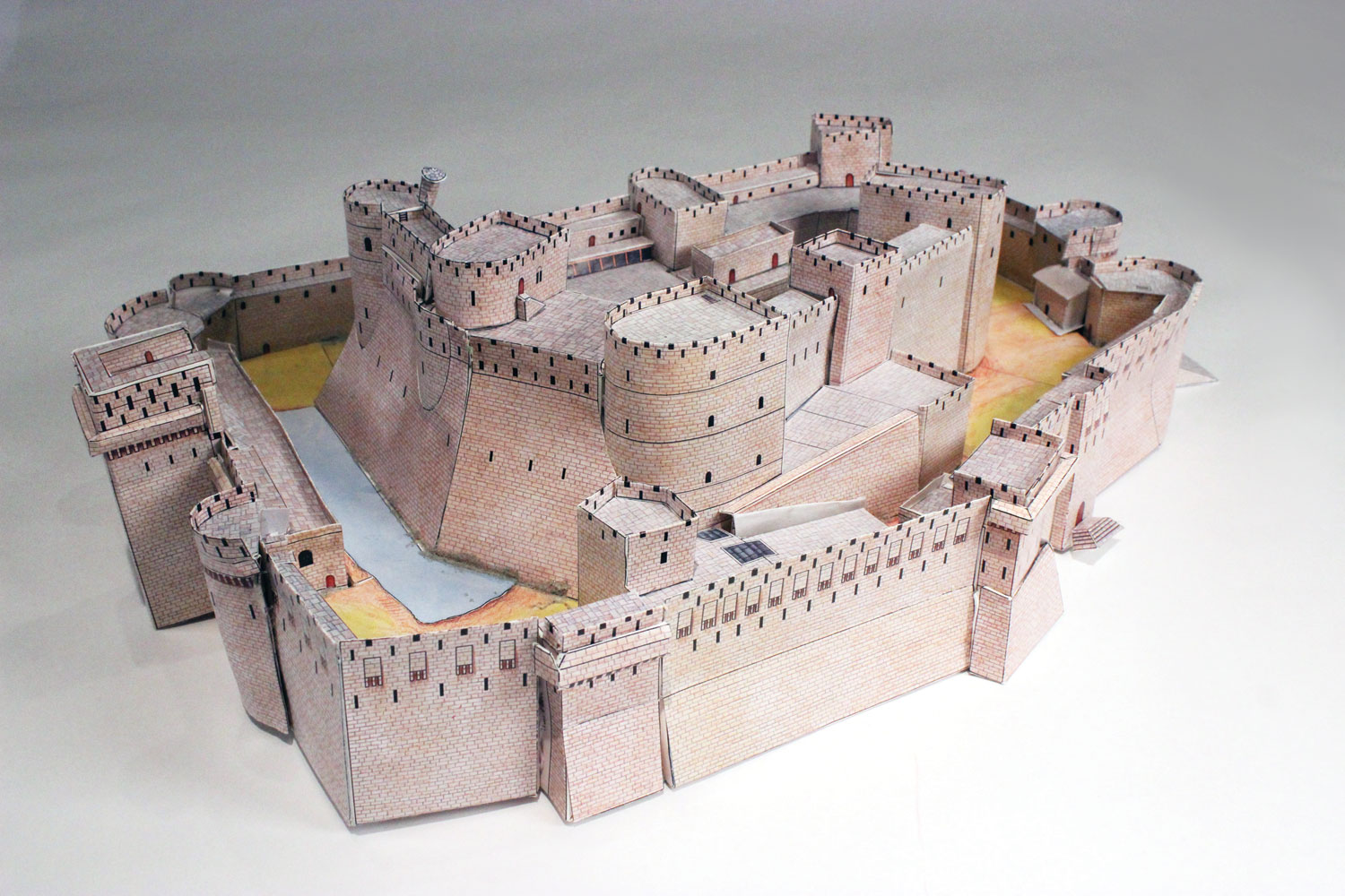It's just a picture of Shocking Building Paper Models