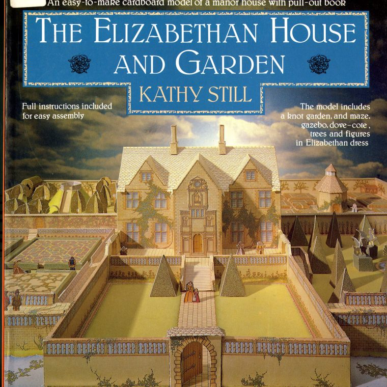 Elizabethan House and Garden. National Building Museum collection.