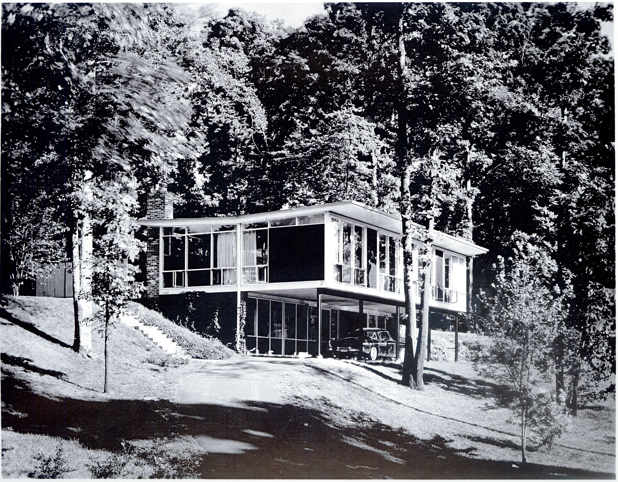 Archival Material of Charles Goodman at the National ... on 1920 style home plans, 1950 home design, retro house plans, minimal traditional house plans, 1950 home interiors, 1950 style home plans,