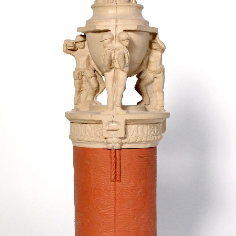National Building Museum, Corner Marker Maquette. Kaskey Studio. Photo by Museum Staff.