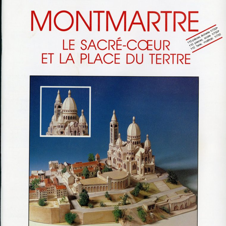 Montmartre with Sacre Coeur. National Building Museum collection.