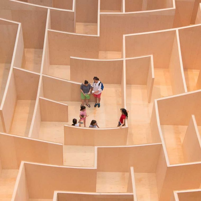 The BIG Maze. Photo by Kevin Allen.