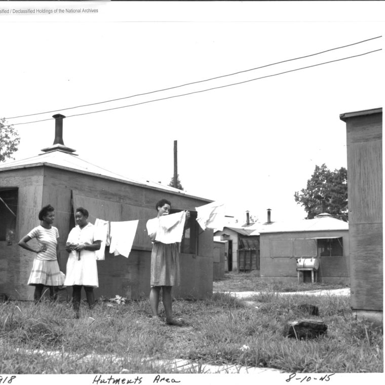 African American Hutment Area, Oak Ridge