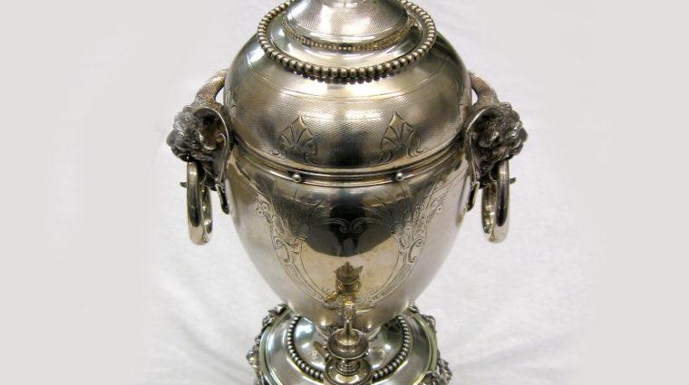 Meigs Silver Tea Set