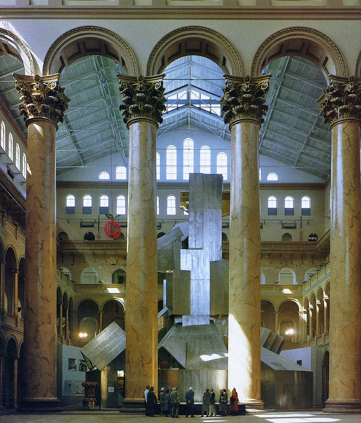 Sheet Metal Structure in the Great Hall, 1988