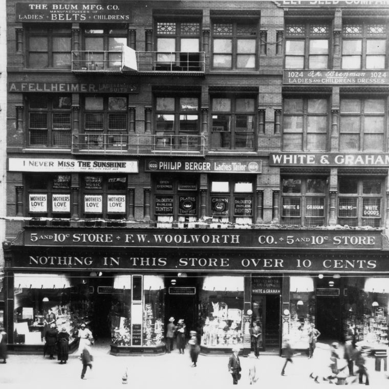 Woolworth store, early 1920s