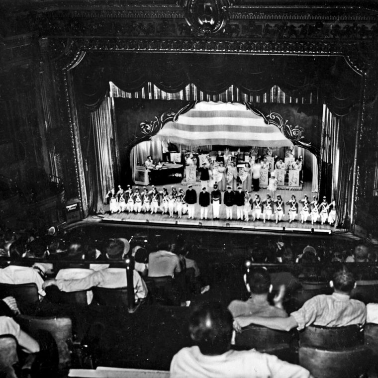 Stage show at the Hippodrome, 1940s. Courtesy of M. Robert Rappaport.