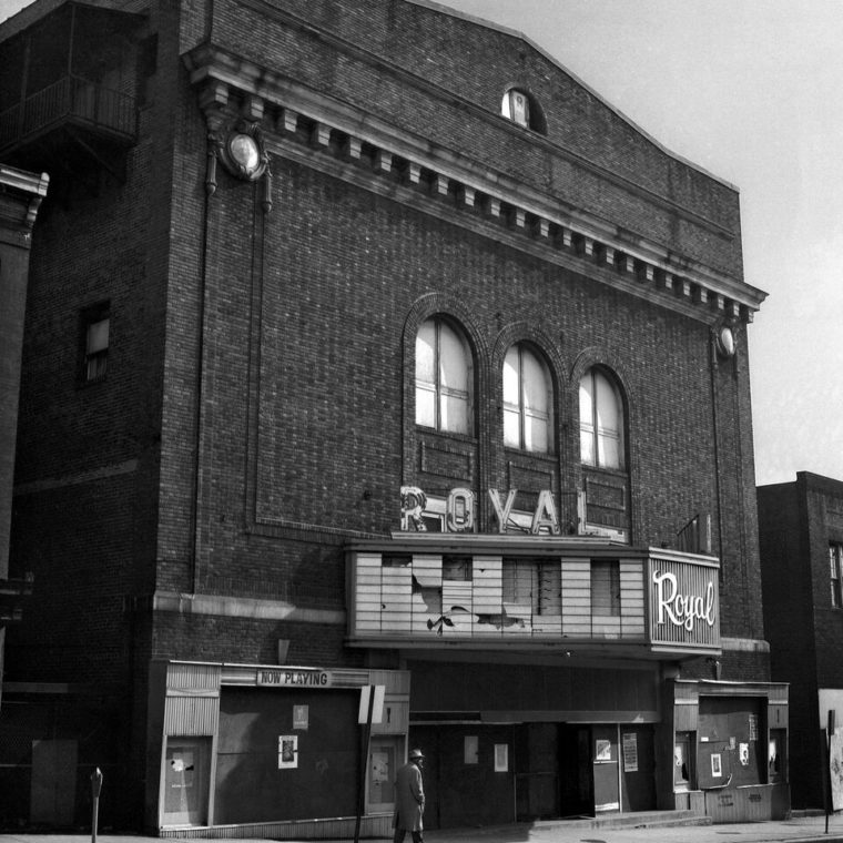 Royal prior to demolition, 1971. Courtesy of the Theatre Historical Society of America