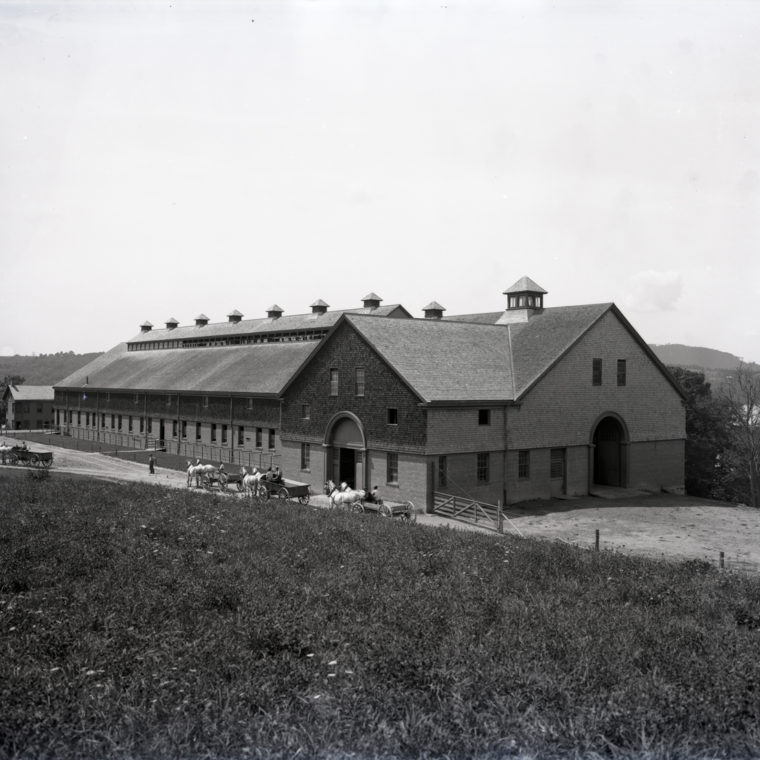 Ellerslie House Cow Barn Exterior