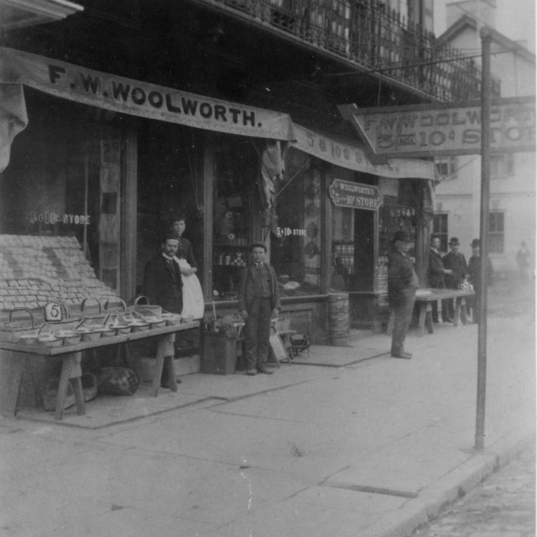 Woolworth Store Front