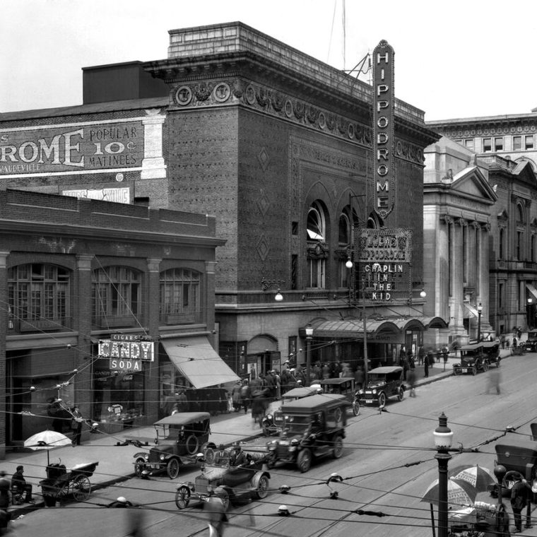 Hippodrome, 1921. Courtesy of the Maryland Historical Society. #SVF