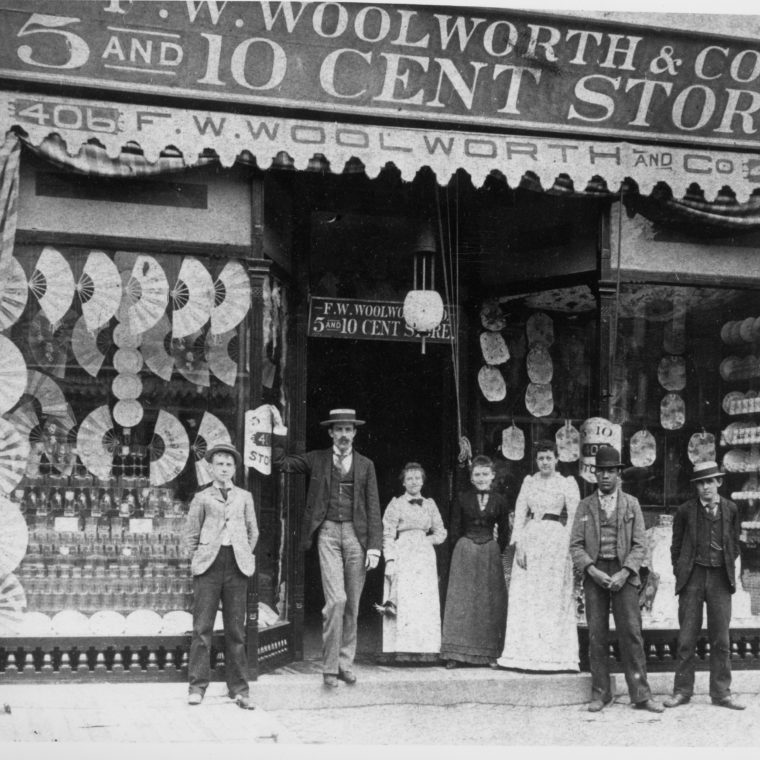 New Woolworth store, Evanston, Illinois ca. 1925