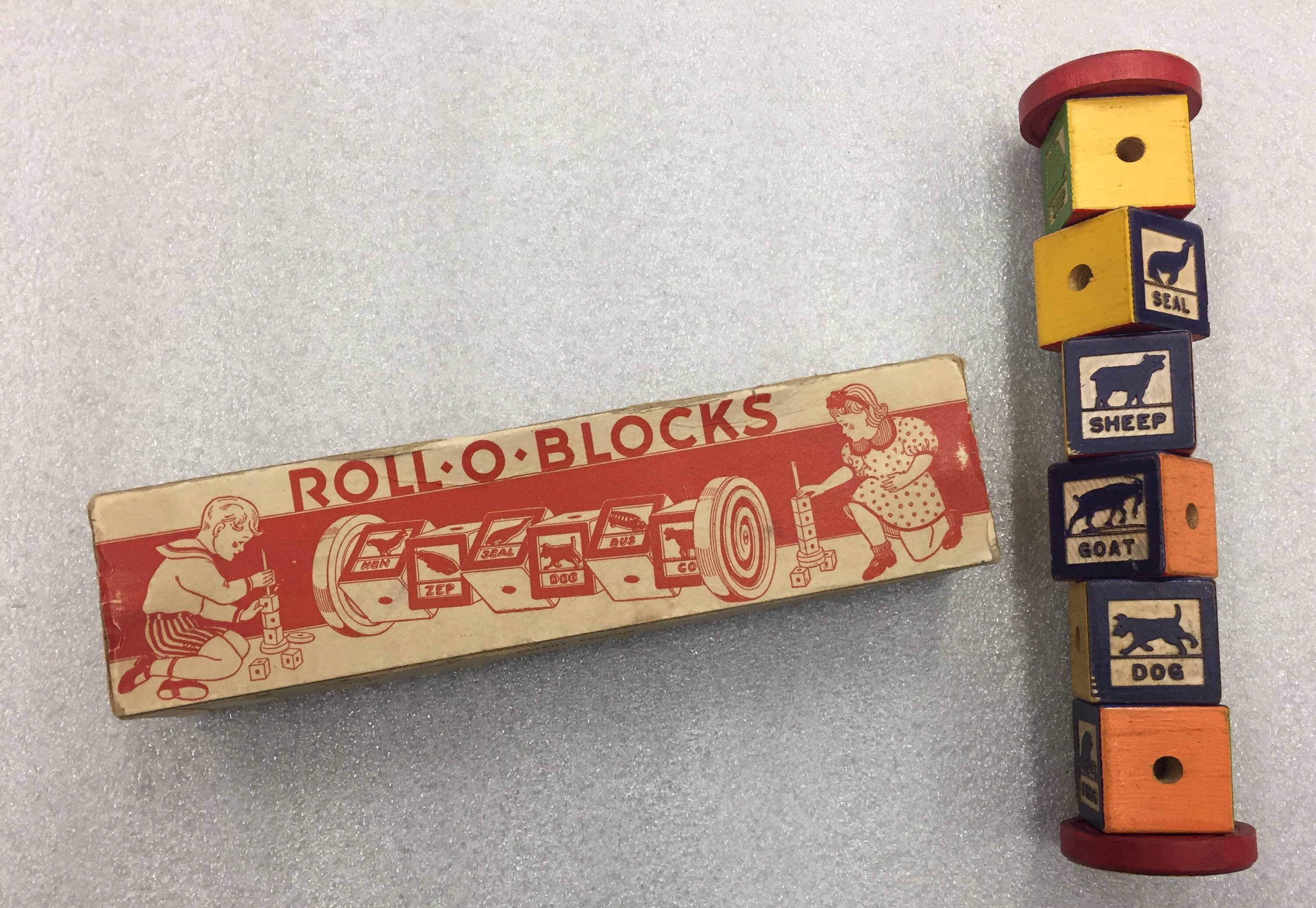 Roll-O-Blocks; Architectural Toy Collection