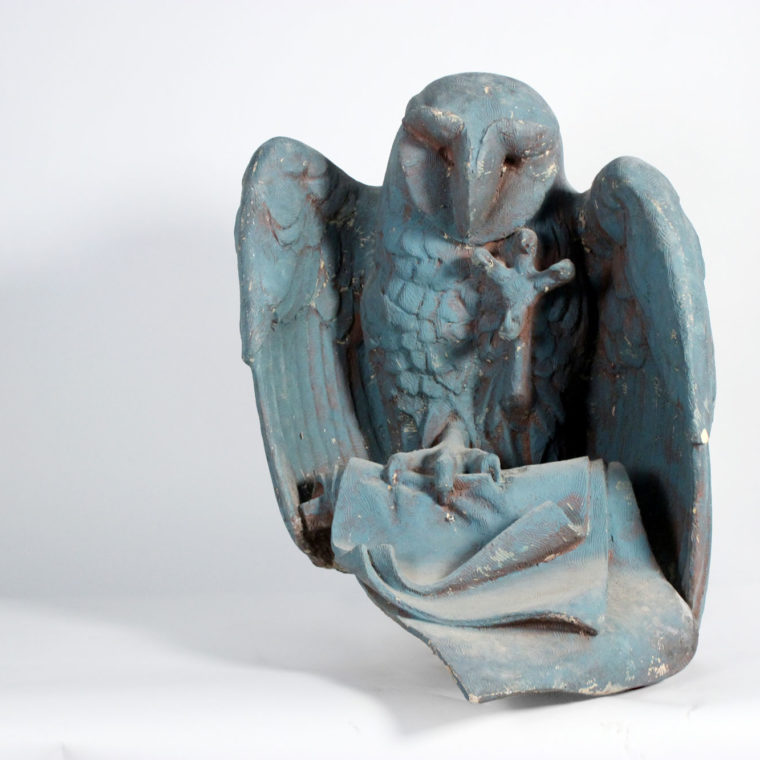 Owl maquette for the Chicago Public Library by Raymond Kaskey.