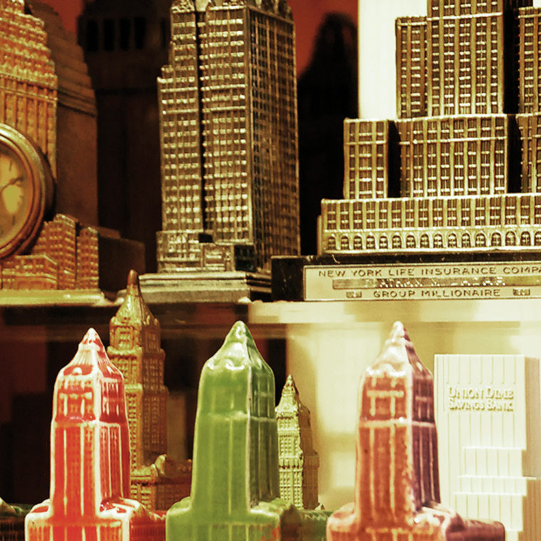 20th Century Souvenir Buildings Collection.