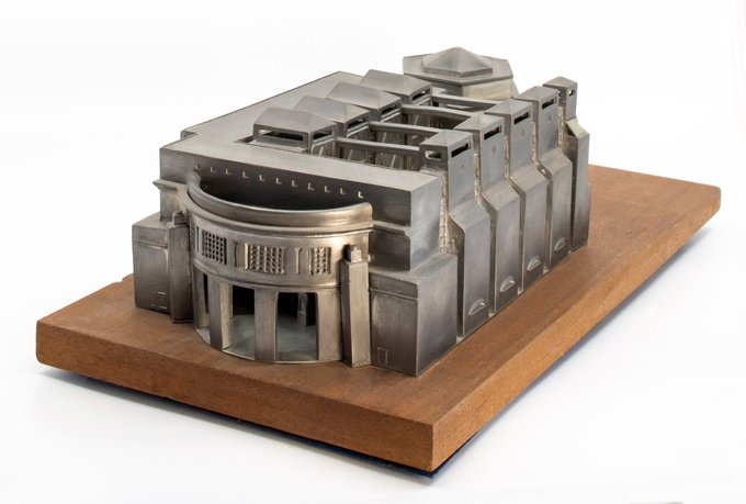 Holocaust Museum. 20th Century Souvenir Buildings Collection.