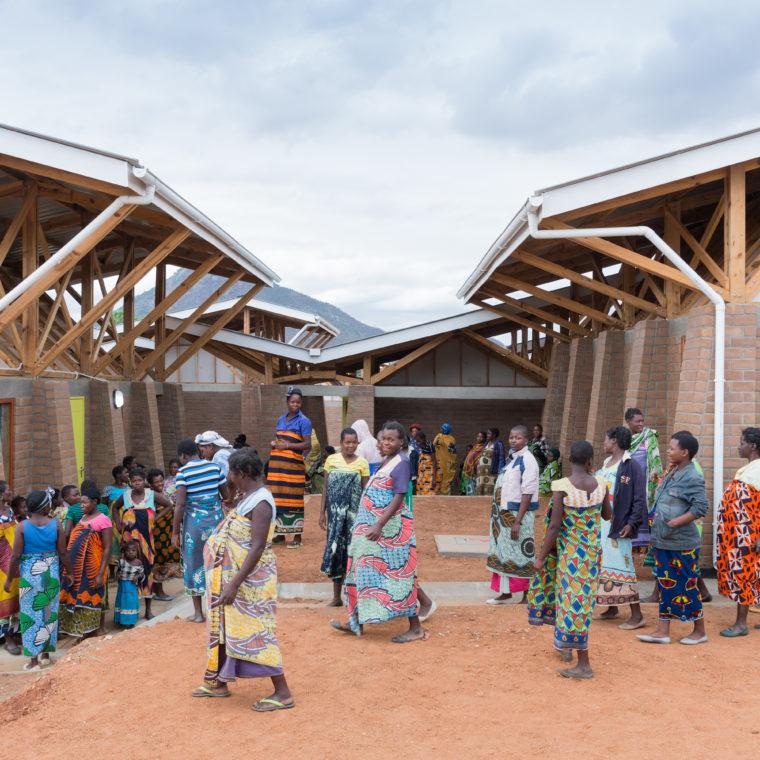 Expecting mothers at the Maternity Waiting Village in Kasungu, Malawi. Credit: Iwan Baan