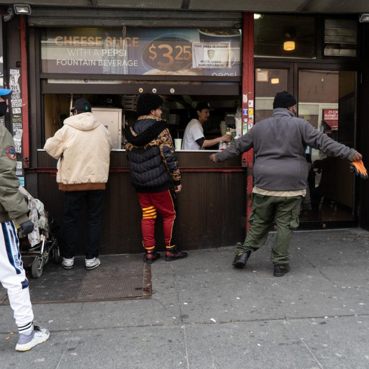 March 15, 2020: The Best Italian Pizza, 412 East 149th Street, Bronx, New York. © Camilo José Vergara