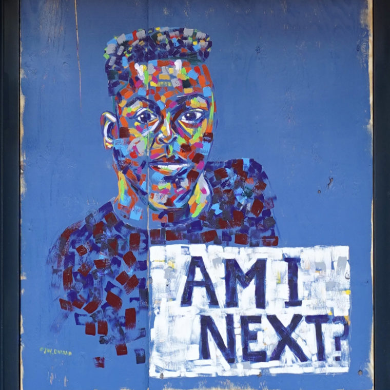 Gallery Place Murals 10: Am I Next?, by Jay Durrah